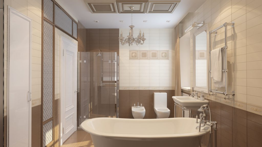 Ванная при спальне