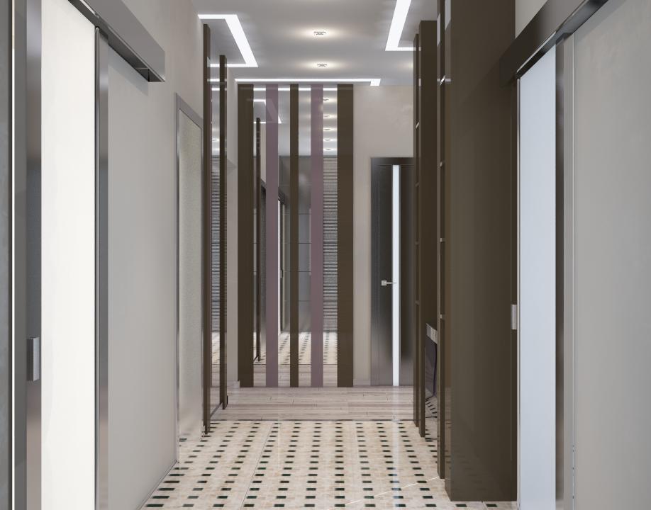 Прихожая-коридор
